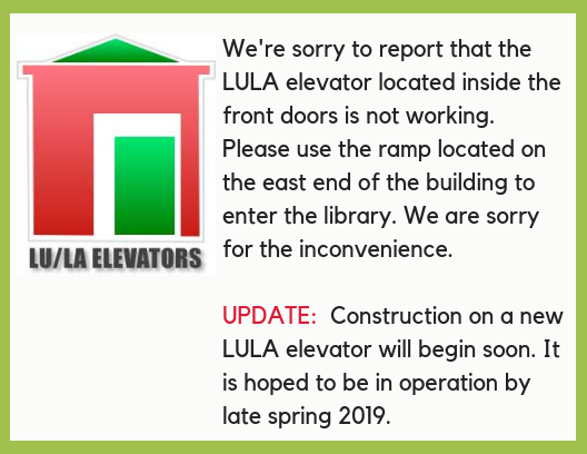LULA Elevator Not Working
