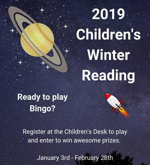 Children's winter reading program