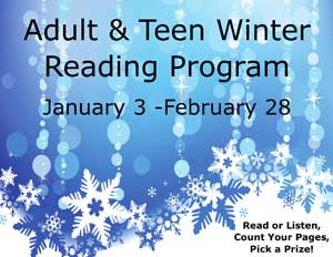 adult and teen winter reading program